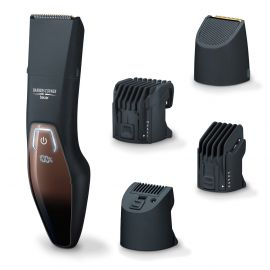 Beurer HR 4000 Cordless Beard Trimmer / styler Splash-proof , Battery Powered , LED display with 3 Years Warranty