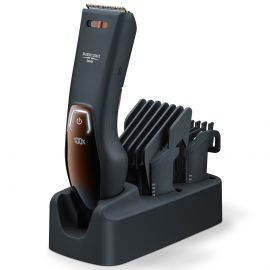 Beurer HR 5000 Professional Cordless hair clipper for Hair and Beard Cut at home Black with 3 Years Warranty