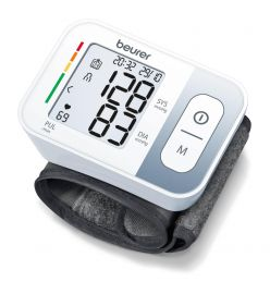 Beurer BC 28 Wrist Fully automatic blood pressure and pulse measurement on wrist blood pressure monitor with 5 years warranty Bp Monitor  (White)