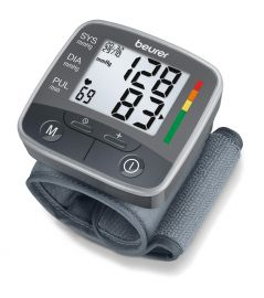 Beurer BC 32 Wrist Blood Pressure Monitor 5 Years Warranty BP Monitor  (Black)