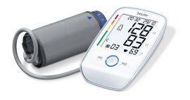 Beurer BM 45 Upper Arm Blood Pressure Monitor With 5 Years Warranty (White)