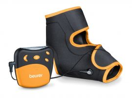 Beurer EM27 Ankle Support and Tens Machine for Drug-Free Pain Relief (Multicolor)