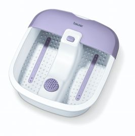 Beurer FB 12 foot spa with 3 functions: vibration massage, bubble massage, water tempering ,3 years Warranty