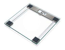 Beurer GS 11 Glass Bathroom weight Scale with Transparent LCD Digital Display ,5 Years Warranty