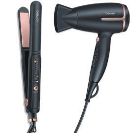 Beurer Combo of Hair Dryer HC25 + Hair Straightener HS40