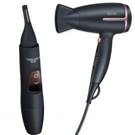 Beurer Combo of Hair Dryer HC25 + Precision Trimmer HR2000