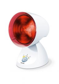 Beurer IL 35 infrared lamp Soothing heat with 3-level electronic timer,automatic switch-off,Light and heat for your well-being, 3 years warranty