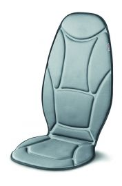 Beurer MG 155 massage seat cover with 5 vibration motors & Car adapter for use in the car, Soothing heat for relaxing vibration massage (3 Years Warranty)